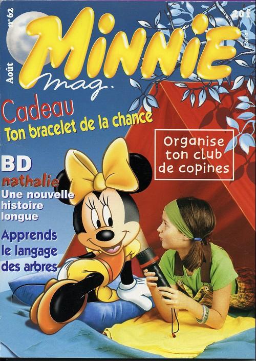 Couverture de Minnie mag -62- Numéro 62