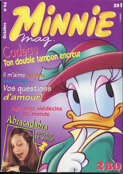 Couverture de Minnie mag -64- Numéro 64