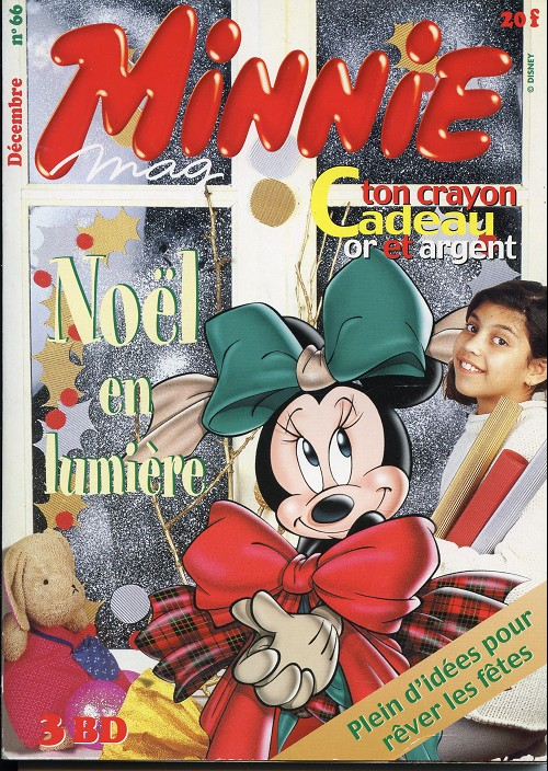 Couverture de Minnie mag -66- Numero 66