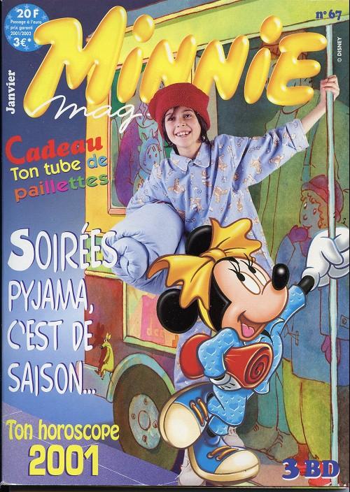 Couverture de Minnie mag -67- Numéro 67