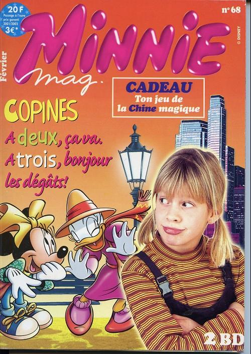 Couverture de Minnie mag -68- Numéro 68