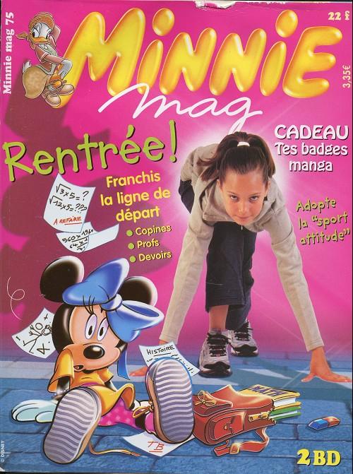 Couverture de Minnie mag -75- Numéro 75