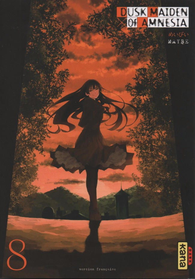 Couverture de Dusk Maiden of Amnesia -8- Volume 8