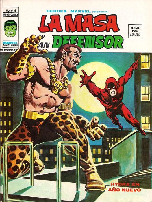 Couverture de Héroes Marvel (Vol.2) -4- La Masa y Dan Defensor