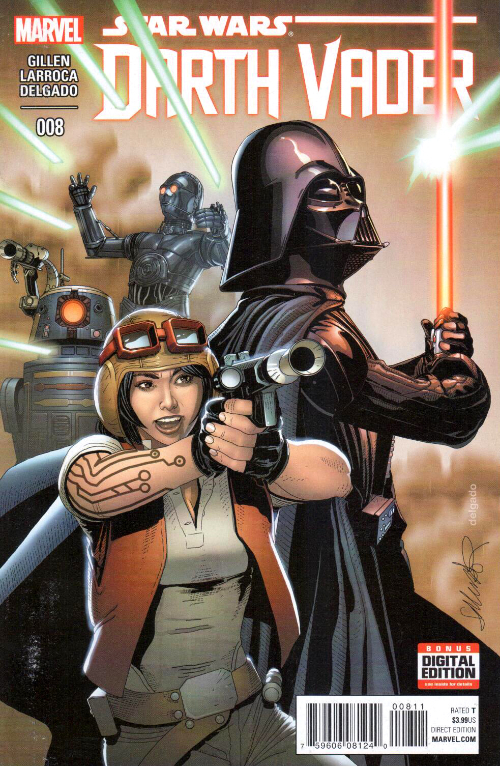 Couverture de Darth Vader (2015) -8- Book II, Part II : Shadows And Secrets