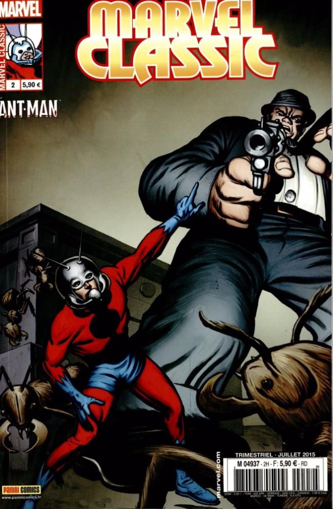 Couverture de Marvel Classic (2e série) -2- Trahi par les fourmis