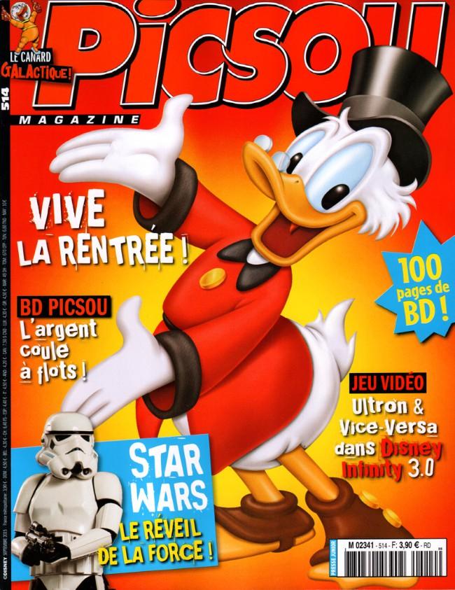 Couverture de Picsou Magazine -514- Picsou Magazine n° 514