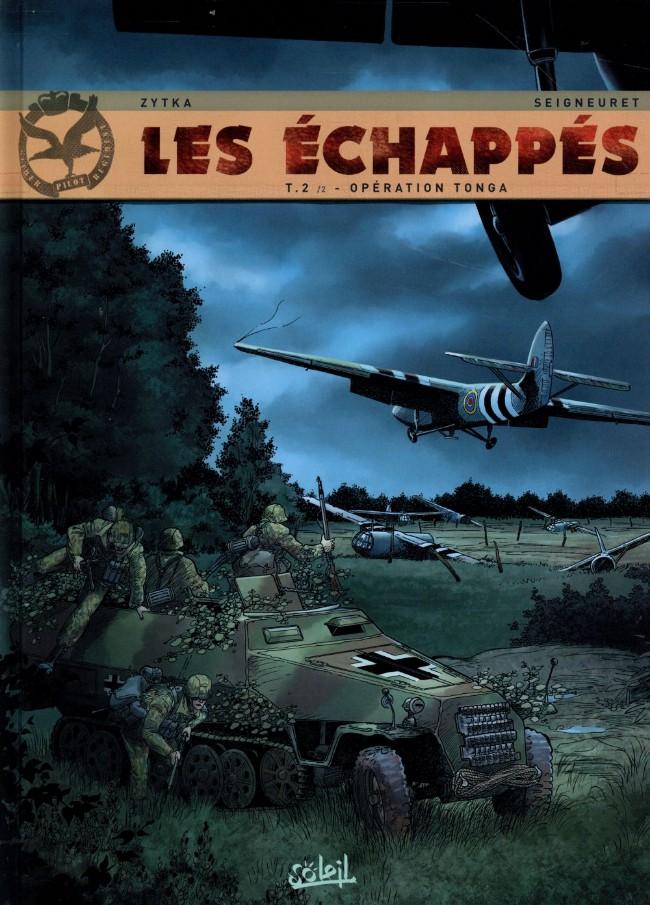 Couverture de Les Échappés -2- Opération Tonga 2/2