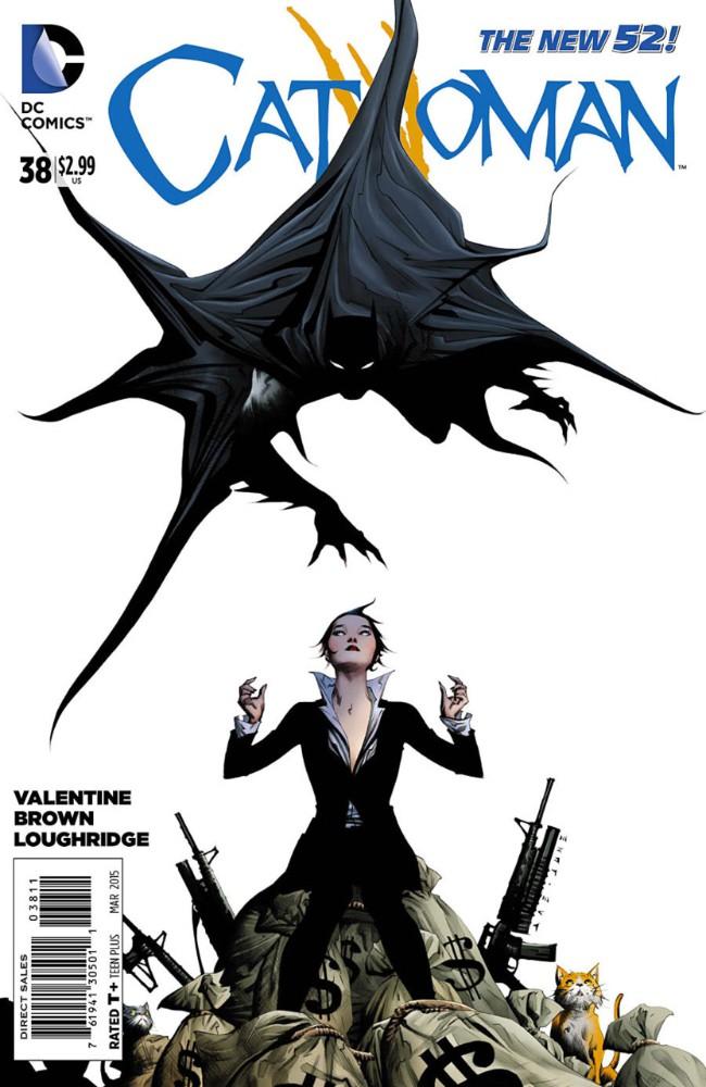 Couverture de Catwoman (2011) -38- The Serpent