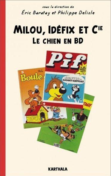 Couverture de (DOC) Études et essais divers - Milou, Idéfix et Cie - Le chien en BD
