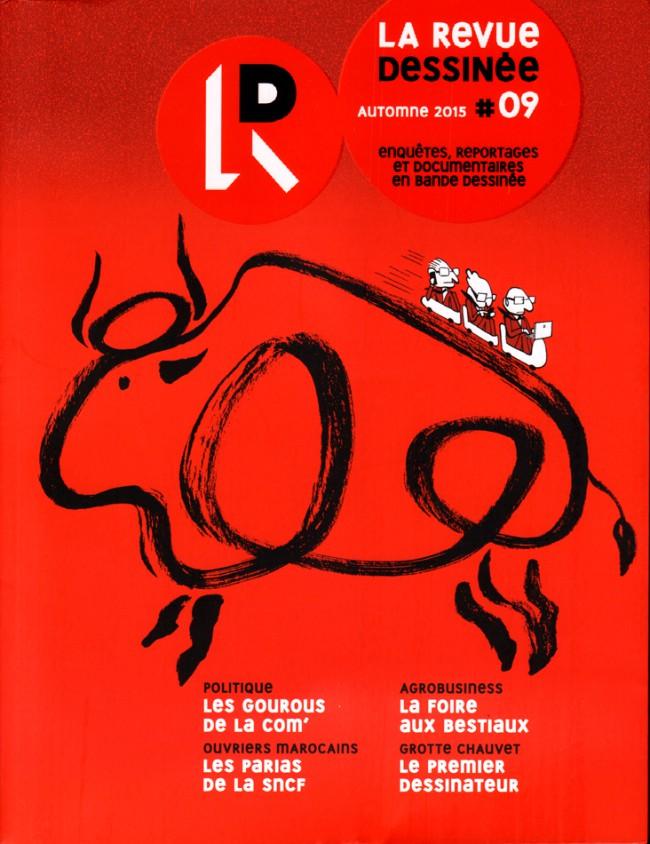 Couverture de La revue dessinée -9- #09