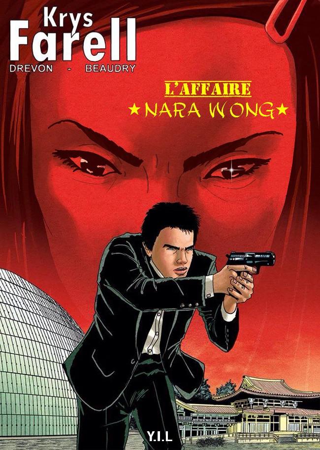 Couverture de Krys Farell -2- L'affaire Nara Wong