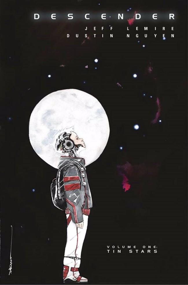 Couverture de Descender (Image comics - 2015) -INT01- Volume One - Tin Stars