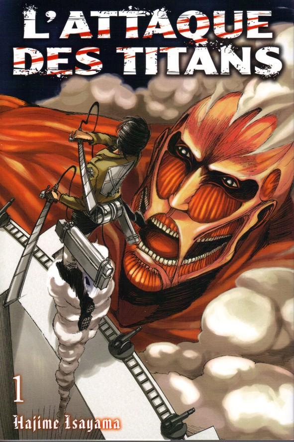 Couverture de L'attaque des Titans -INT01- Tomes 1 et 2