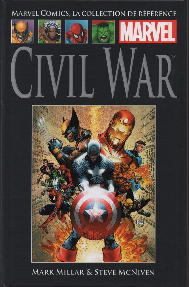 Couverture de Marvel Comics - La collection (Hachette) -4149- Civil War