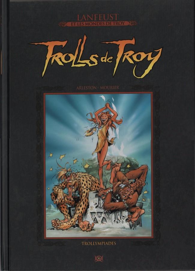 Couverture de Lanfeust et les mondes de Troy - La collection (Hachette) -56- Trolls de Troy - Trollympiades