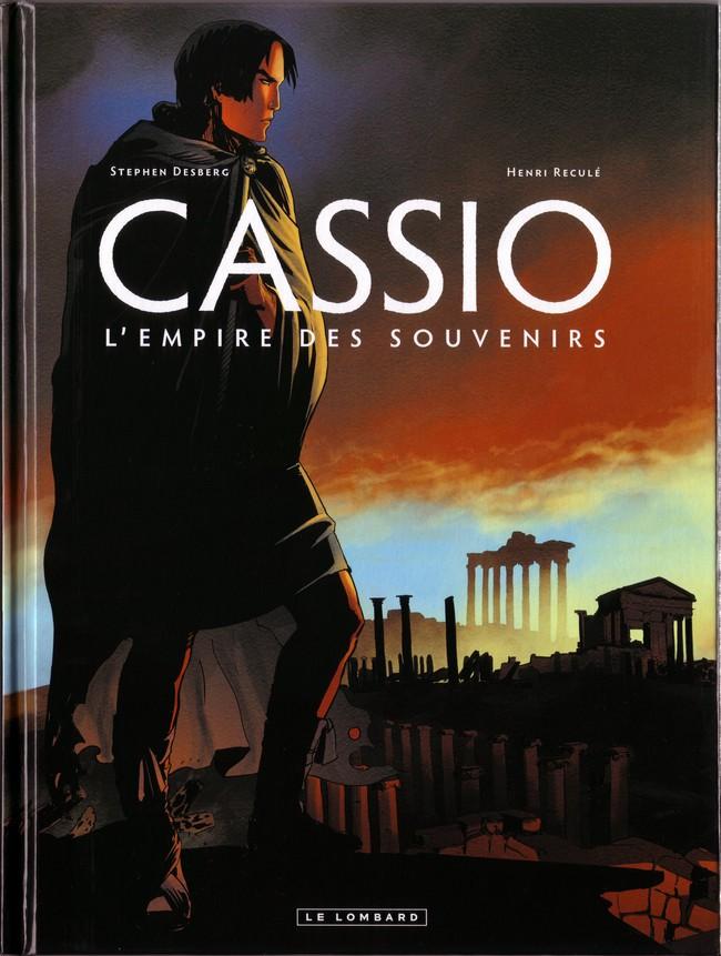Couverture de Cassio -9- L'empire des souvenirs