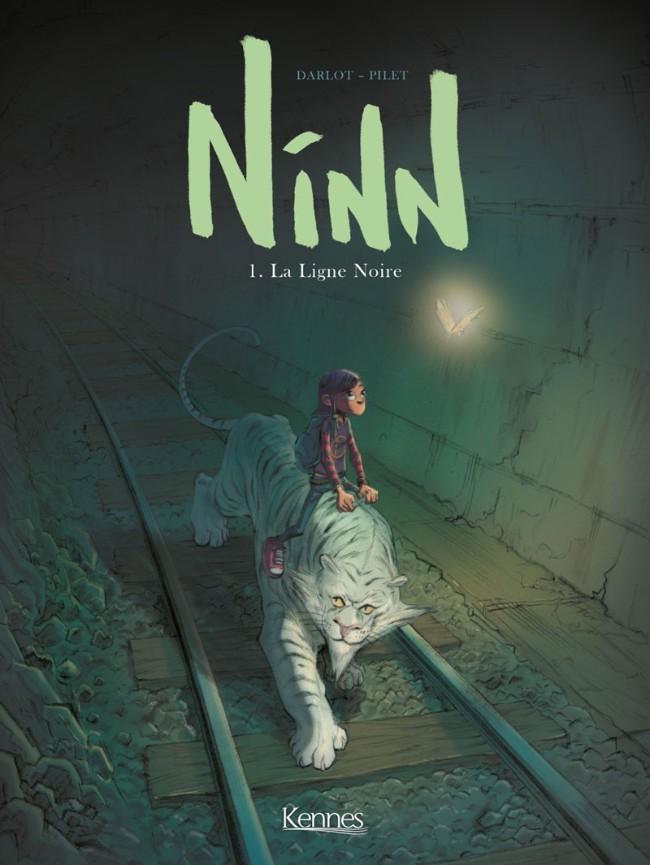 Couverture de Ninn -1- La Ligne Noire