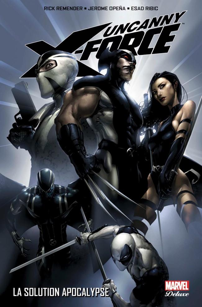 Couverture de Uncanny X-Force -1- La Solution Apocalypse