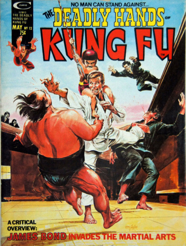 Couverture de Deadly Hands of Kung Fu (The) (1974) -12- Blood of the Golden Dragon