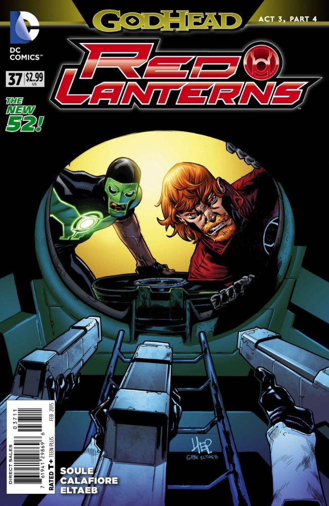 Couverture de Red Lanterns (2011) -37- Godhead, Act III: Part IV: Forged in Blood