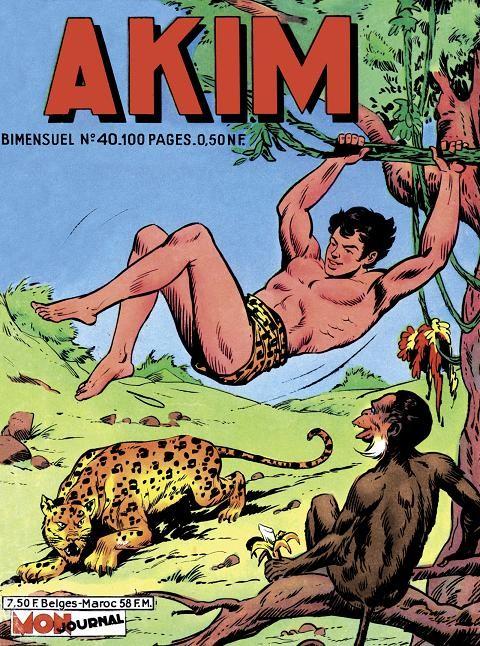 Couverture de Akim (1re série) -40- Le prisonnier de l'abîme