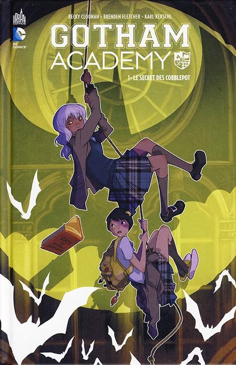 Couverture de Gotham Academy -1- Le Secret des Cobblepot