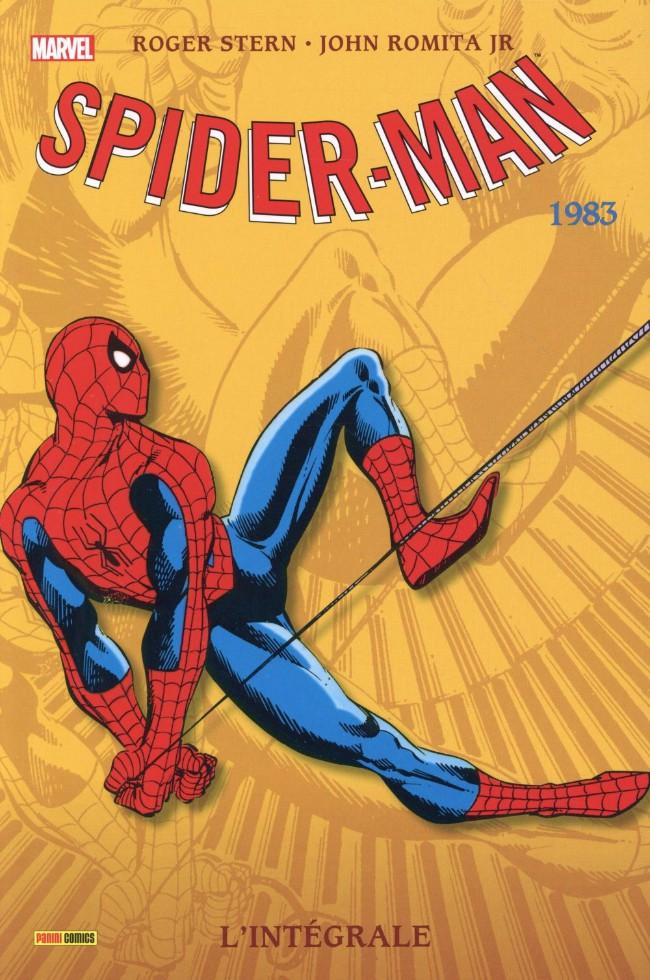 Couverture de Spider-Man (L'Intégrale) -21INT- Spider-Man : l'intégrale 1983