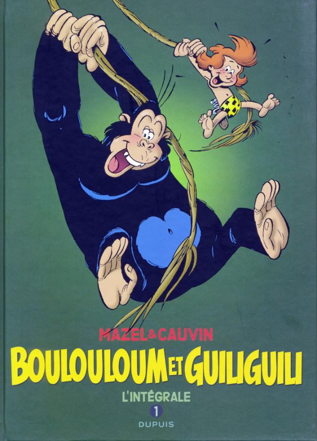 Couverture de Boulouloum et Guiliguili (Les jungles perdues) -INT1- L'intégrale 1