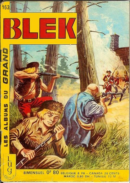 Couverture de Blek (Les albums du Grand) -163- Numéro 163