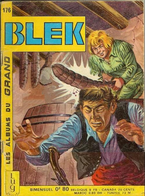 Couverture de Blek (Les albums du Grand) -176- Numéro 176