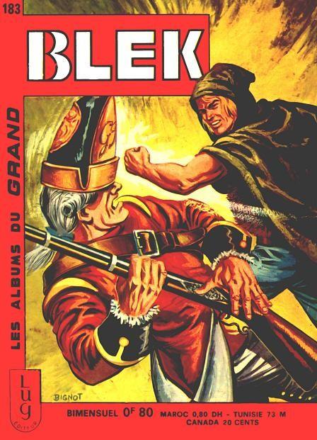 Couverture de Blek (Les albums du Grand) -183- Numéro 183