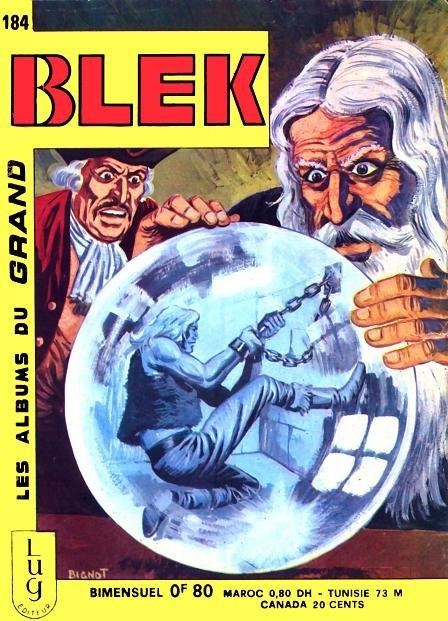 Couverture de Blek (Les albums du Grand) -184- Numéro 184