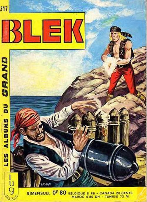 Couverture de Blek (Les albums du Grand) -217- Numéro 217