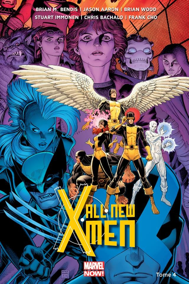 Couverture de All-New X-Men (Marvel Now! - 2014) -4- La Bataille de l'Atome