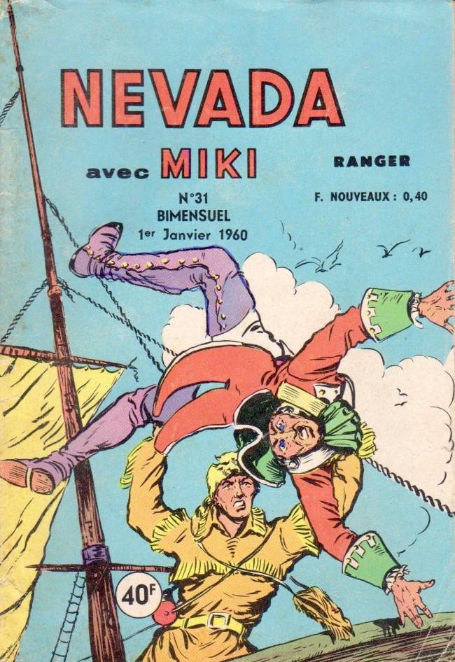 Couverture de Nevada (LUG) -31- Numéro 31