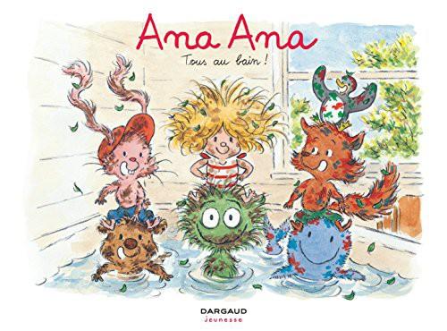 Couverture de Ana Ana -6- Tous au bain !