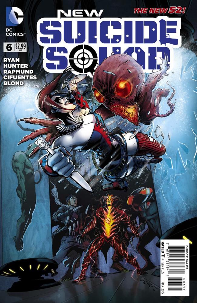 Couverture de New Suicide Squad (2014) -6- Defective, Part 2