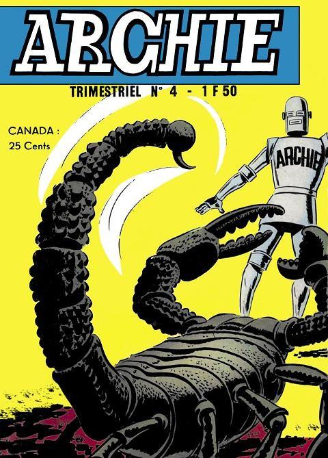 Couverture de Archie (Jeunesse et Vacances) -4- Le scorpion géant