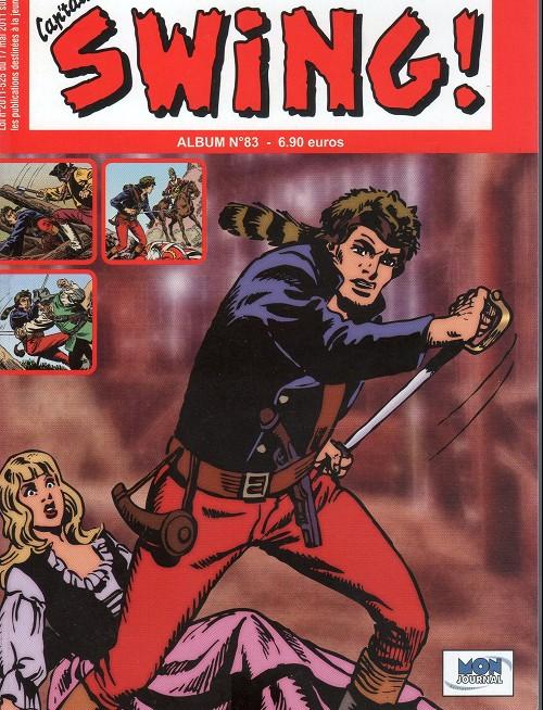 Couverture de Capt'ain Swing! (2e série - Mon Journal) -Rec83- Album N°83 (du n°249 au n°251)