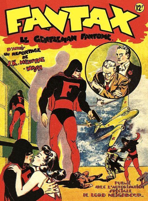 Couverture de Fantax (1re série) -1- Le gentleman fantôme