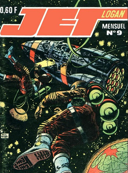 Couverture de Jet Logan (puis Jet) -9- Dans dix jours la fin du monde