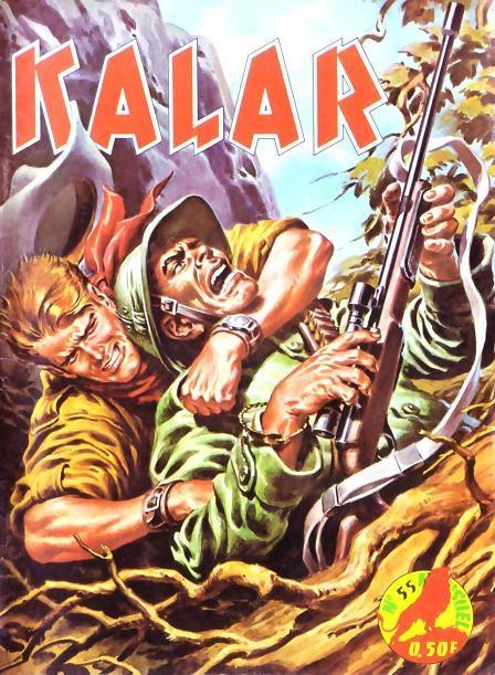 Couverture de Kalar -55- La jungle en folie