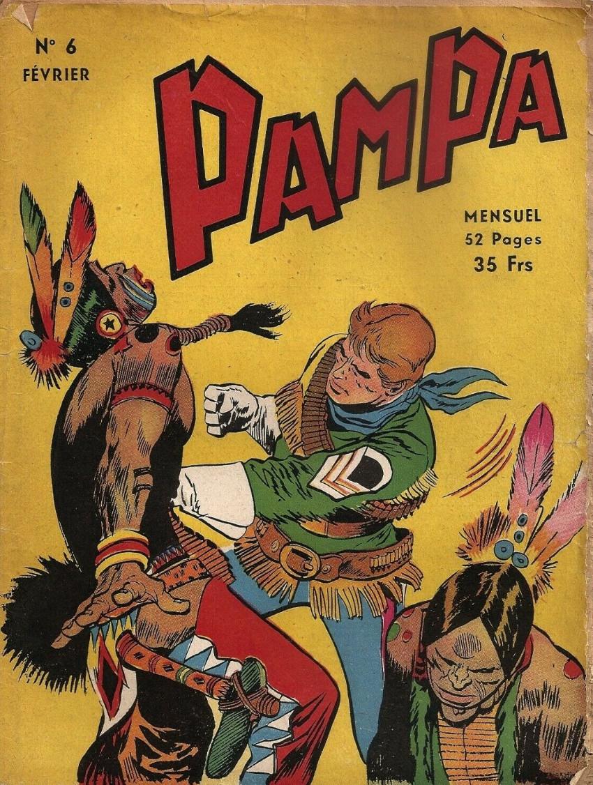 Couverture de Pampa (Lug - 1re série) -6- Stormy Red - Tripot (2)