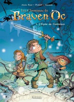 Couverture de Les chroniques de Braven Oc -1- L'Épée de Galamus