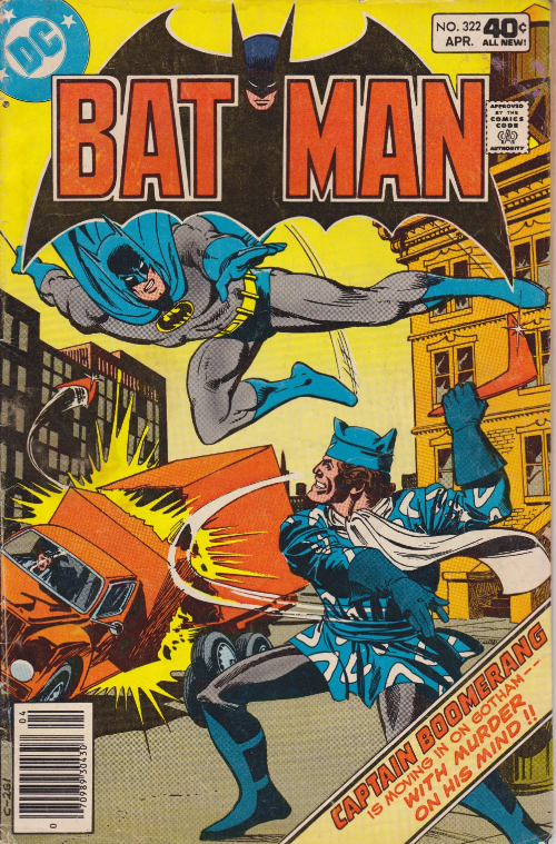 Couverture de Batman Vol.1 (DC Comics - 1940) -322- Chaos... coming and going
