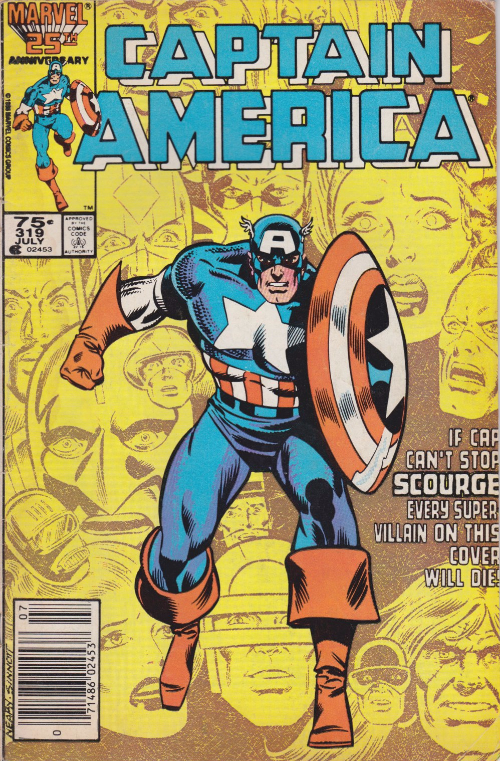 Couverture de Captain America (1968) -319- Overkill