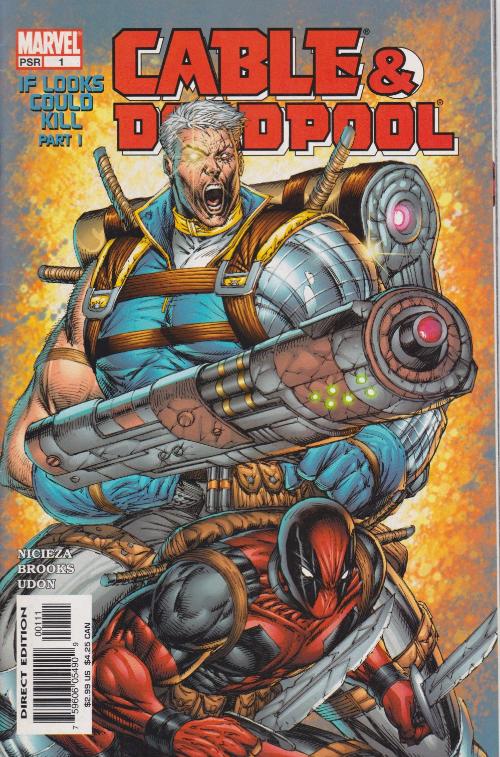 Couverture de Cable & Deadpool (2004) -1- If Looks Could Kill, part 1