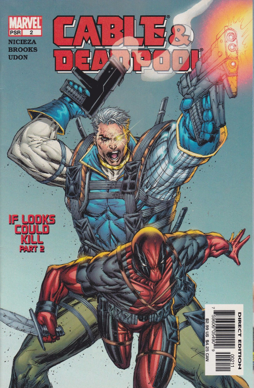 Couverture de Cable & Deadpool (2004) -2- If Looks Could Kill, part 2