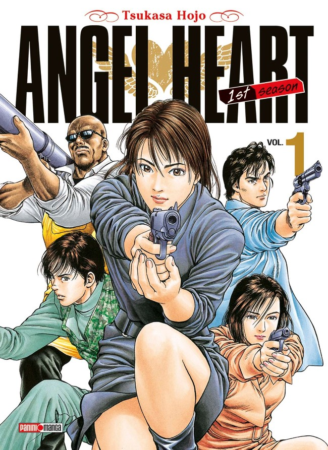 Couverture de Angel Heart - 1st Season -1- Tome 1